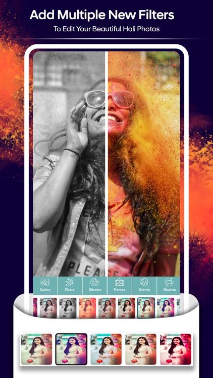 Holi Photo Frames screenshot-4