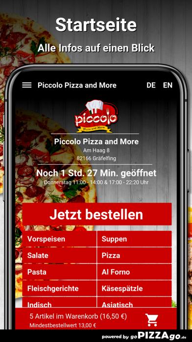 Piccolo Pizza Gräfelfing screenshot 3