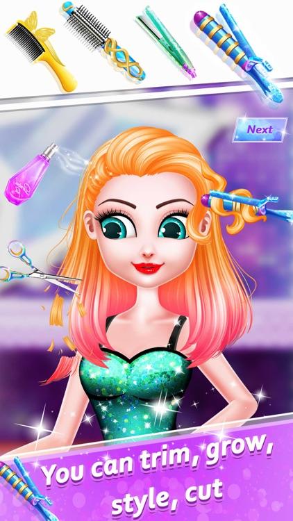 Fashion Hair Salon Girls Games