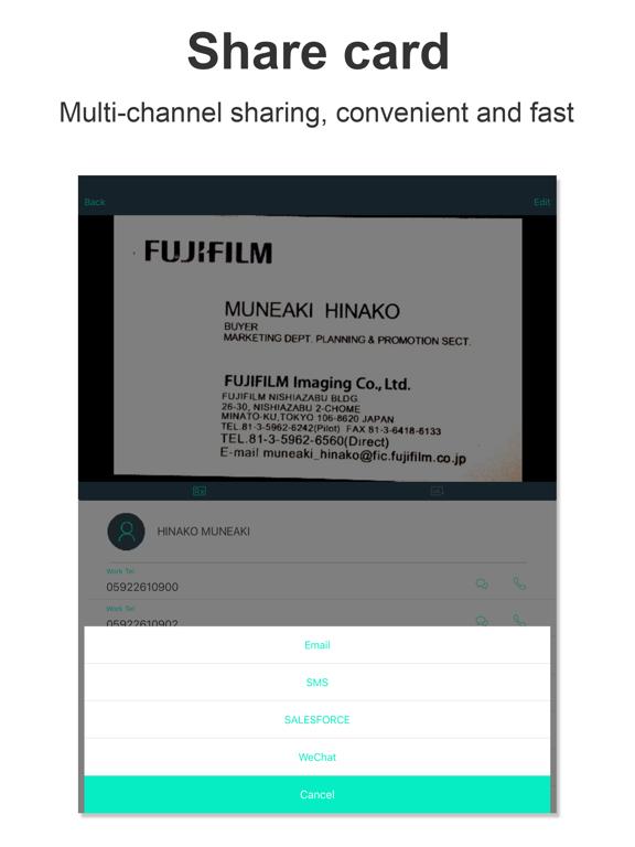 Card Scanner -- Foxcard pro Screenshots