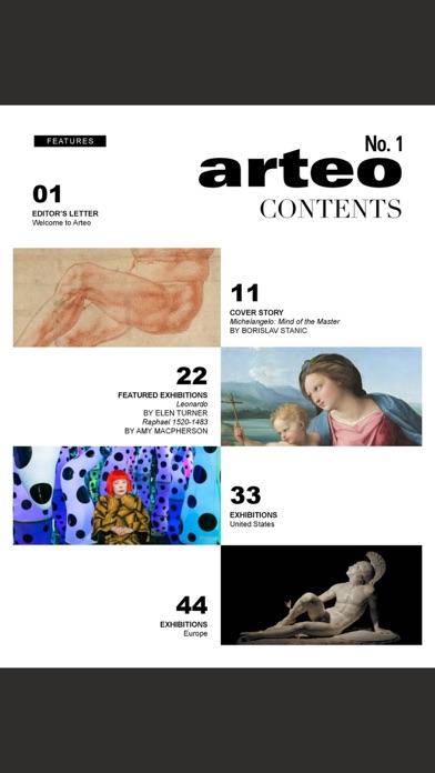 Arteo MagazineScreenshot of 2