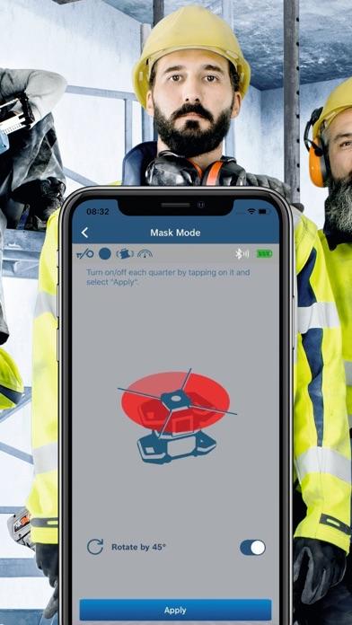 Bosch Levelling Remote AppScreenshot von 3