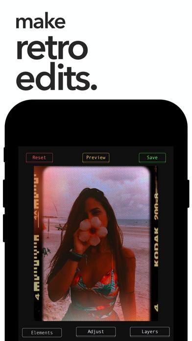 Retroframe: Film + Grain Maker screenshot 1