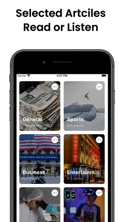 Audiofy -News Book Text Reader screenshot-5