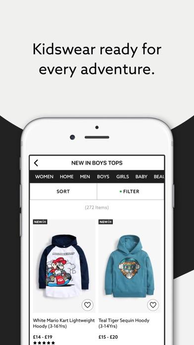 Next: Shop Fashion & Homeware screenshot three