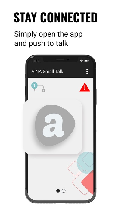 AINA Small Talk Screenshot