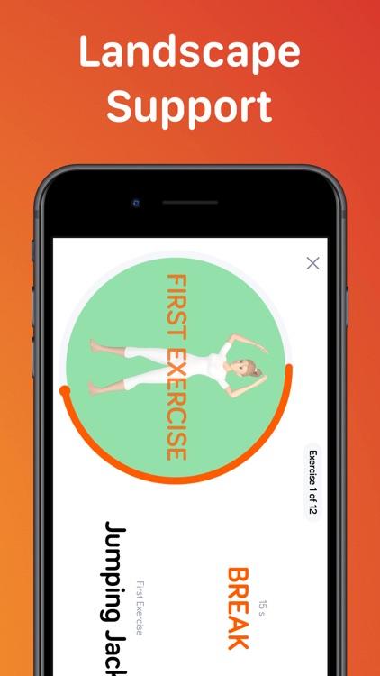 7 Minute High Fitness Work Out screenshot-8