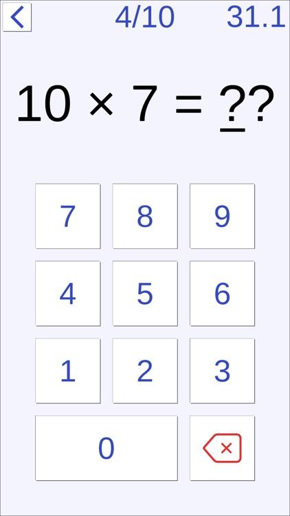 Calculation Training For Brain