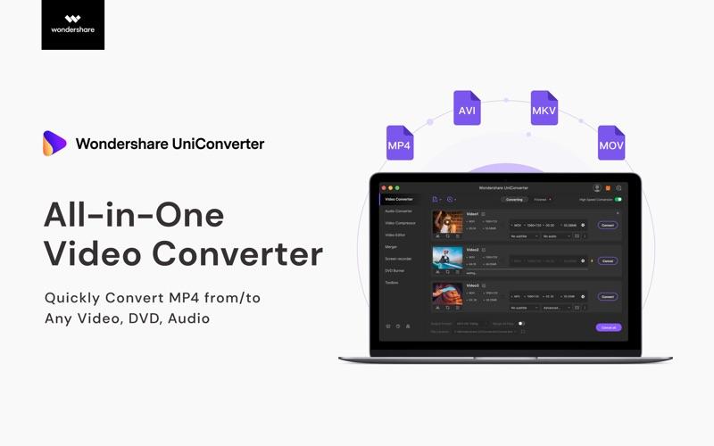 UniConverter- Video Converter скриншот программы 5