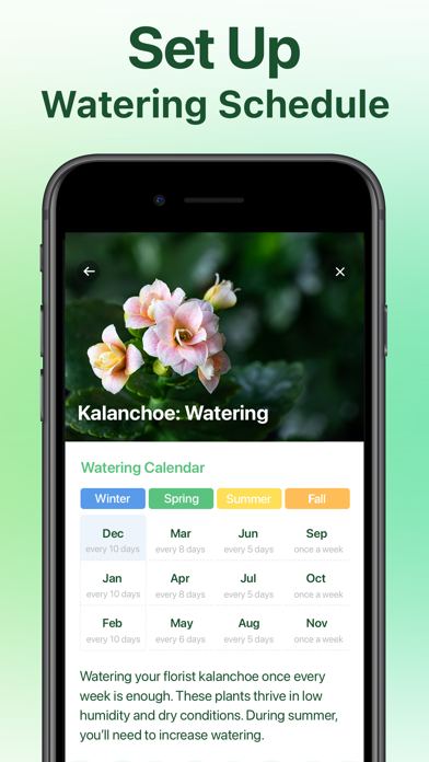 NatureID: Plant Identification Screenshot