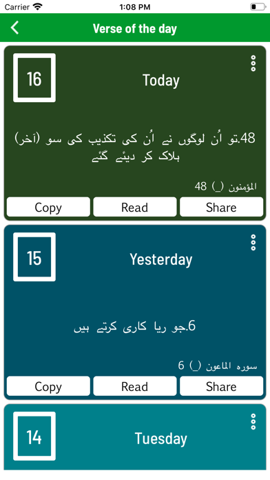 Al Quran with Urdu Translation screenshot four