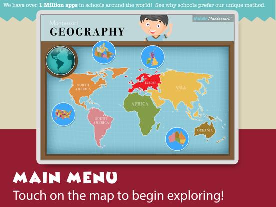 Montessori Geography School Ed screenshot 10
