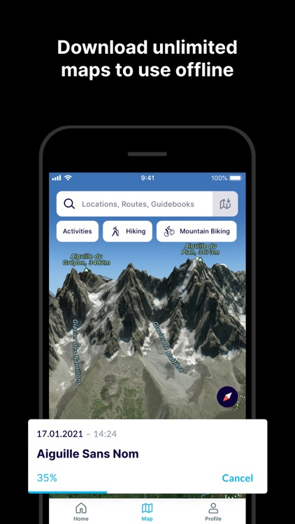 FATMAP: Ski, Hike, Bike Maps screenshot-7