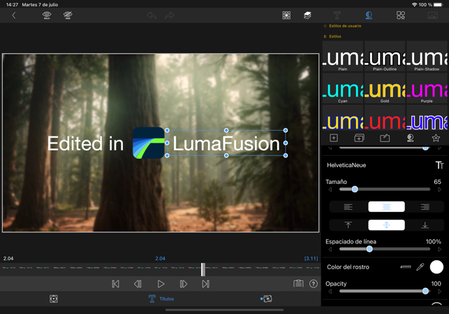 ‎LumaFusion Screenshot
