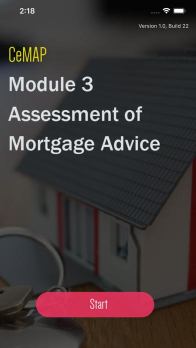 CeMAP 3 Mortgage Advice Exam screenshot 1