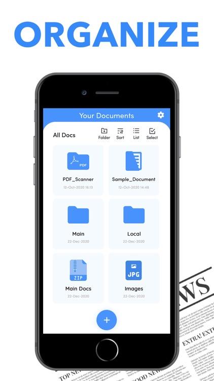 Scanner PDF Document QR Scan screenshot-8