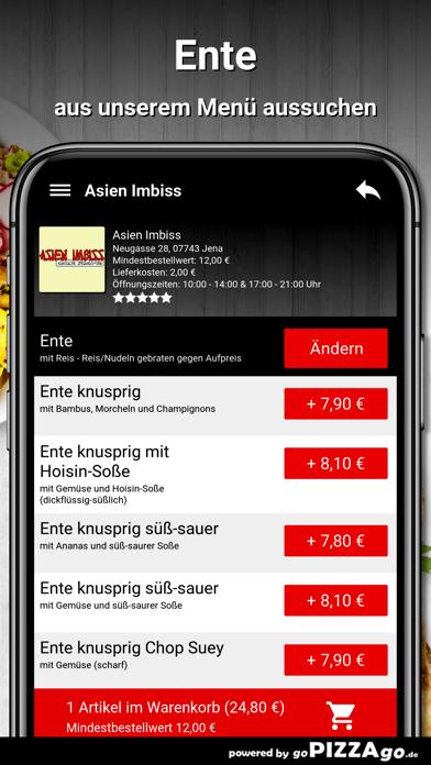Asien Imbiss Jena Pizza screenshot 5