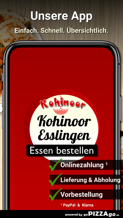 Restaurant Kohinoor Esslingen screenshot 1