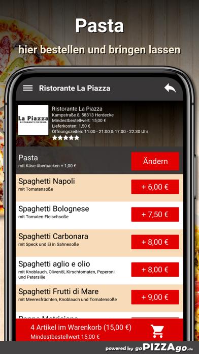 Ristorante La Piazza Herdecke screenshot 6