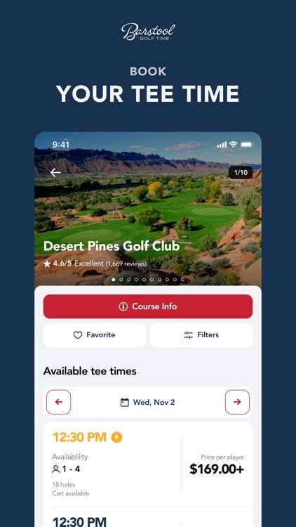 Barstool Golf Time
