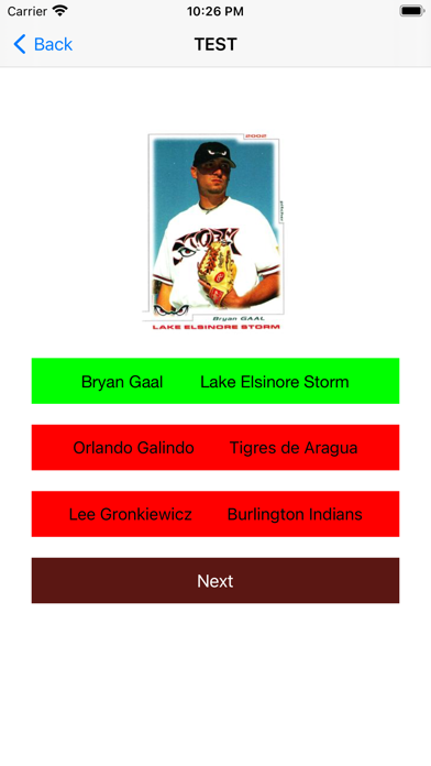 Baseball trading cards PRO screenshot 5