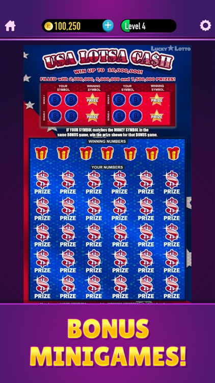 Lucky Lotto - Mega Scratchers screenshot-3