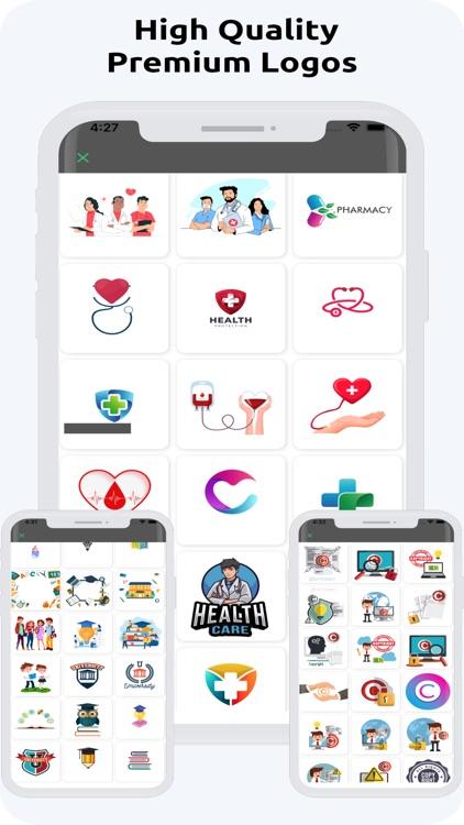 Logo Maker-Creat Logo Designer screenshot-7