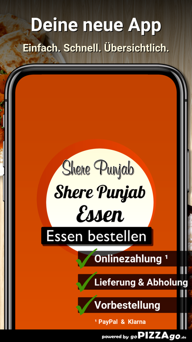 Shere Punjab Essen screenshot 1