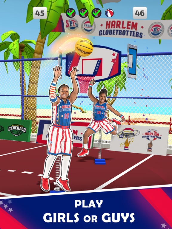 Harlem Globetrotter Basketball screenshot 10