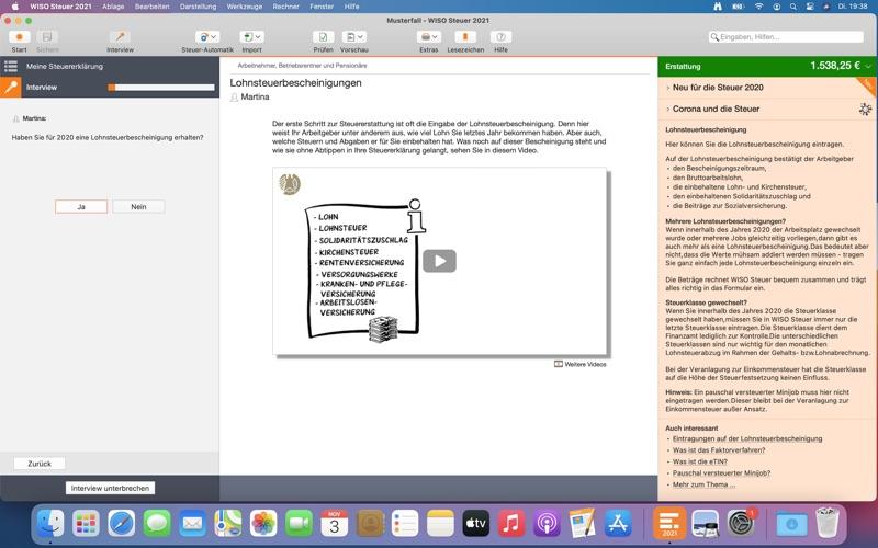 WISO Steuer 2021 Screenshots