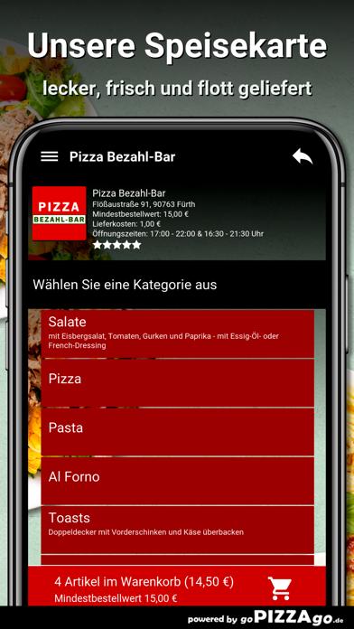 Pizza Bezahl-Bar Fürth screenshot 4