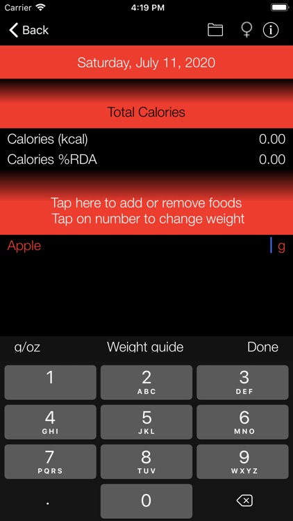 Calorie Counter and Tracker