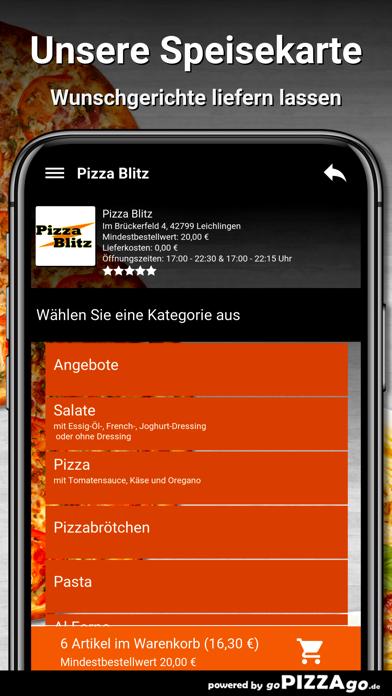 Pizza Blitz Leichlingen screenshot 4