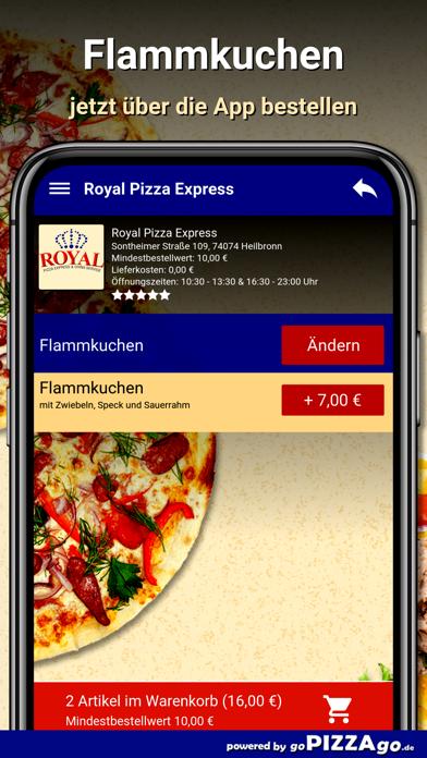 Royal Pizza Express Heilbronn screenshot 2