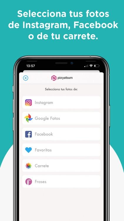 Pixyalbum - Fotolibros screenshot-3