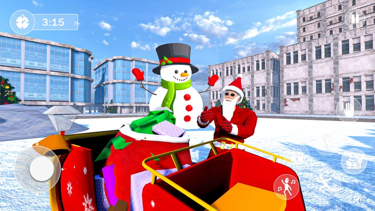 Santa Clause Gift Delivery screenshot-3