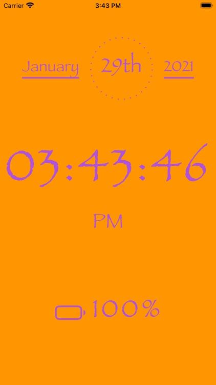 My big clock screenshot-4