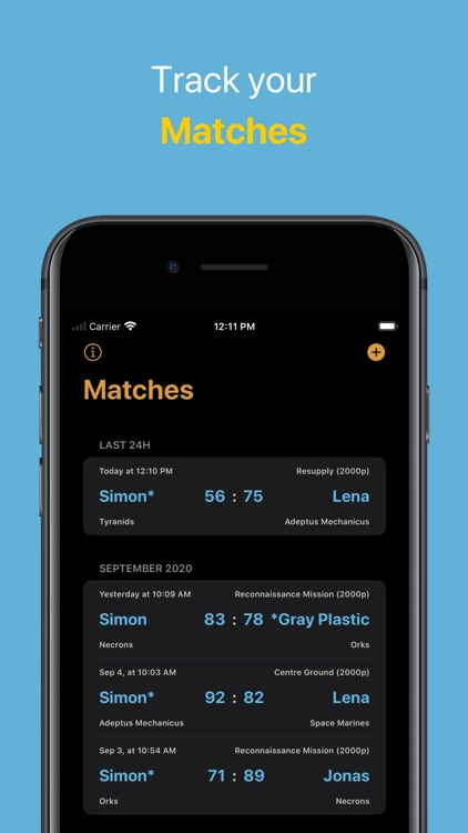 WH40K Scores screenshot-5