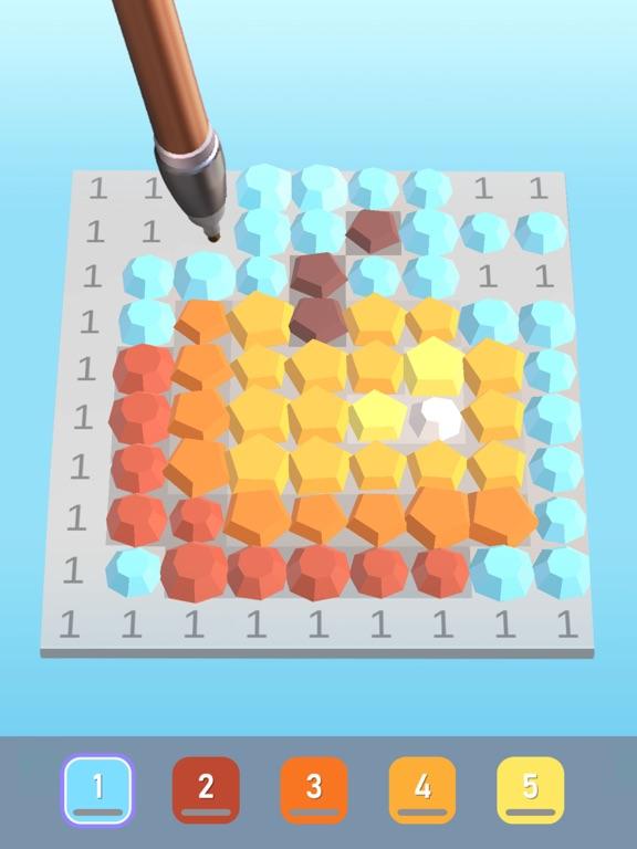 Diamond Painting ASMR Coloring iPad app afbeelding 4