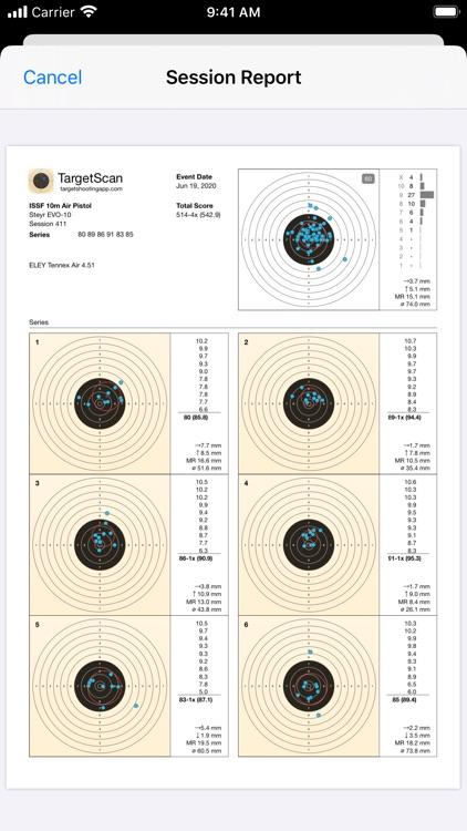 TargetScan - Pistol & Rifle screenshot-4