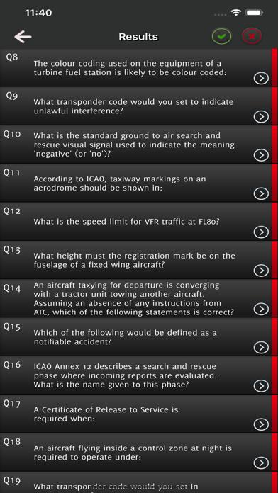 PPL Canada Private Pilot Exam screenshot 7