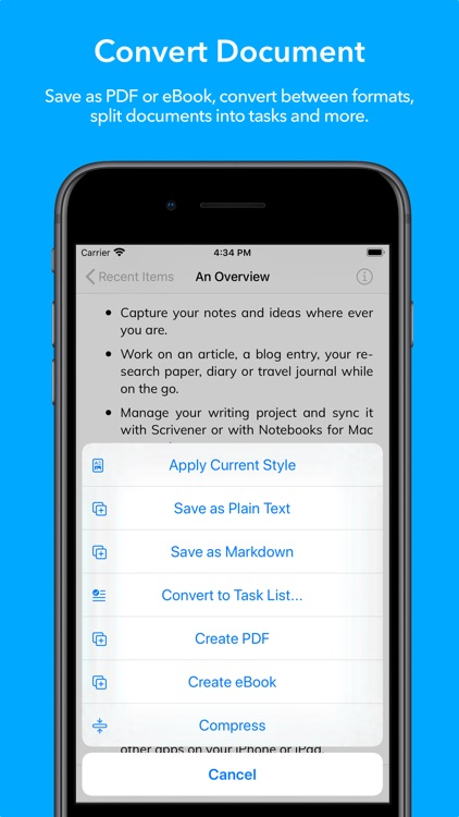Notebooks 10: Write & Organize screenshot-6