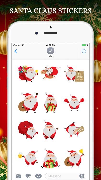 Santa Claus Stickers Pack! screenshot-3