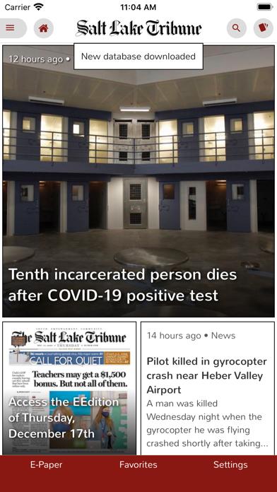 cancel Salt Lake Tribune eEdition app subscription image 1