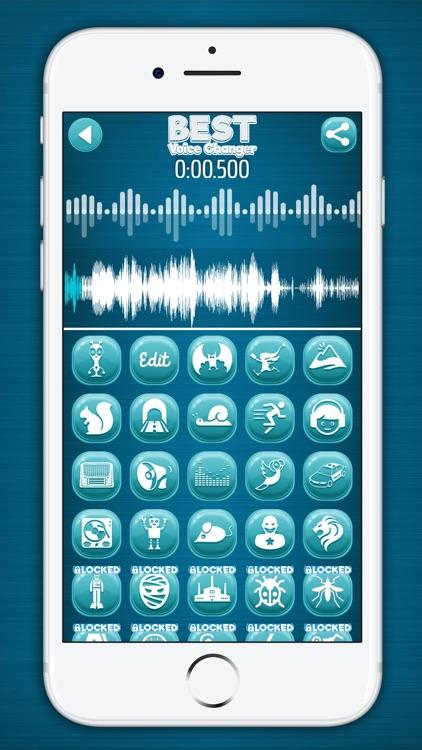 Best Voice Changer & Modifier screenshot-3