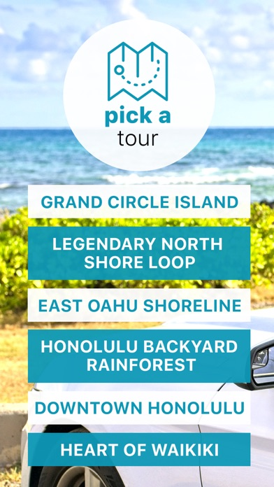 Oahu Driving Tours & Walking Screenshot