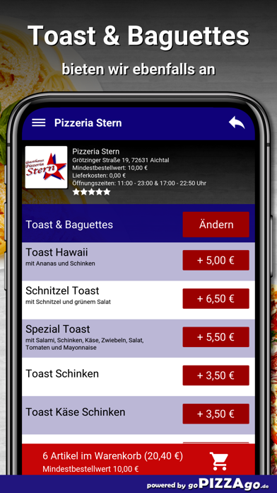 Pizzeria Stern Aichtal screenshot 6