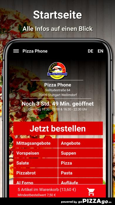 Pizza Phone Weilimdorf screenshot 2
