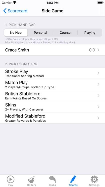 Golf GPS Rangefinder Scorecard screenshot-8