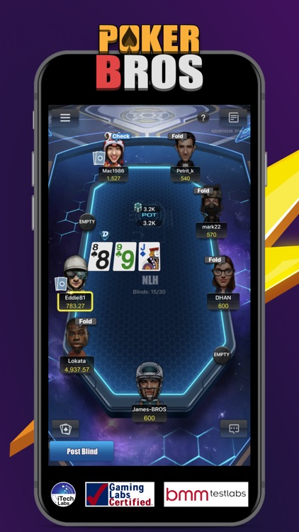 PokerBROS - Your Poker App screenshot-0